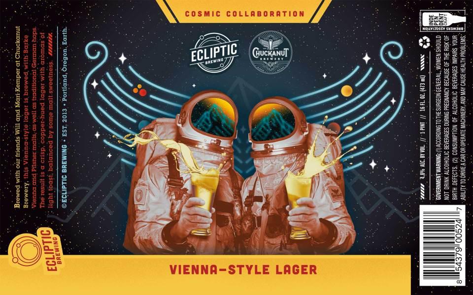Ecliptic Chuckanut Vienna-Style Lager