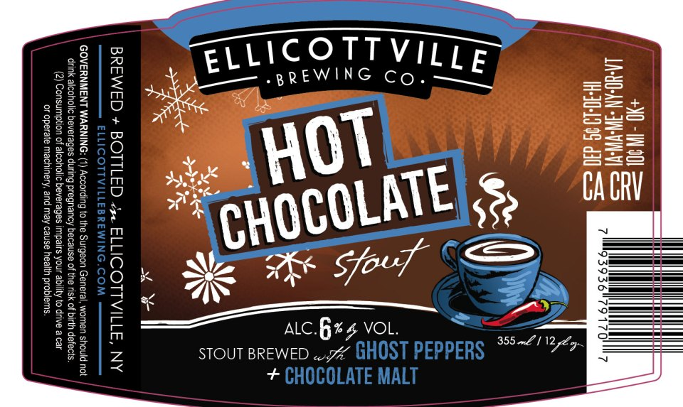 Ellicotville Brewing Hot Chocolate Stout