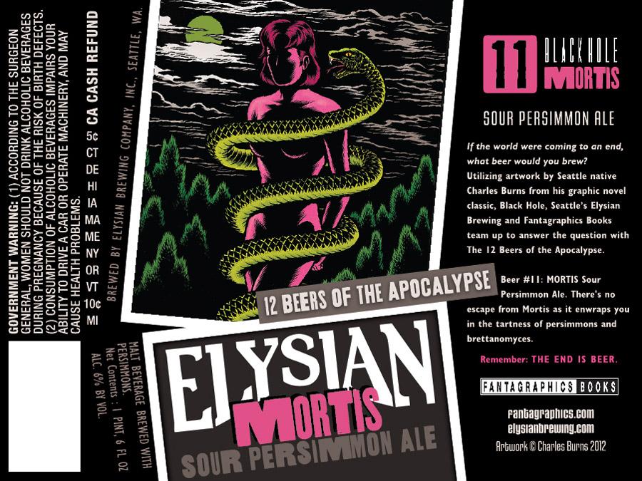 Elysian Mortis Sour Persimmon Ale