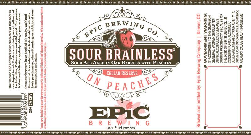 Epic Sour Brainless on Peaches