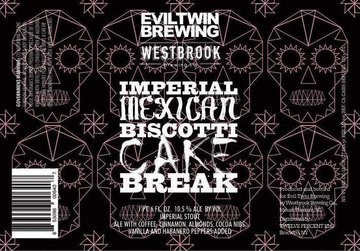 Evil Twin Imperial Mexican Biscotti Cake Break