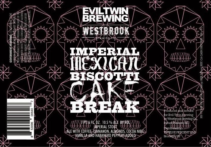 Evil Twin Imperial Mexican Biscotti Cake Break