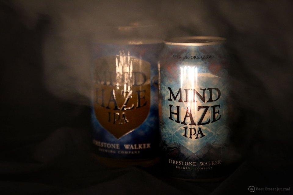 Firestone Walker Mind Haze IPA can