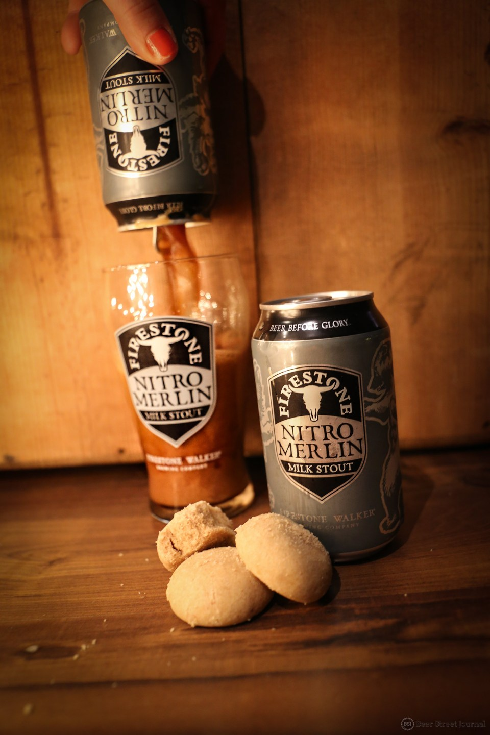 Firestone Walker Nitro Merlin Milk Stout can