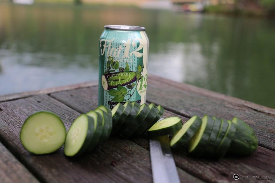 Flat 12 Cucumber Kolsch can