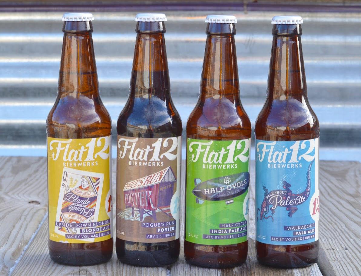 what we're drinking: 545. Flat 12 Bierwerks Half-Cycle IPA