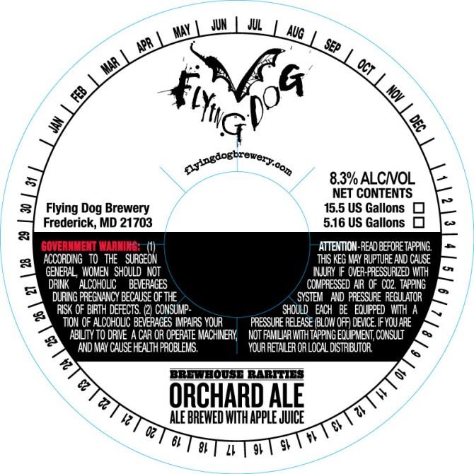 Flying Dog Orchard Ale