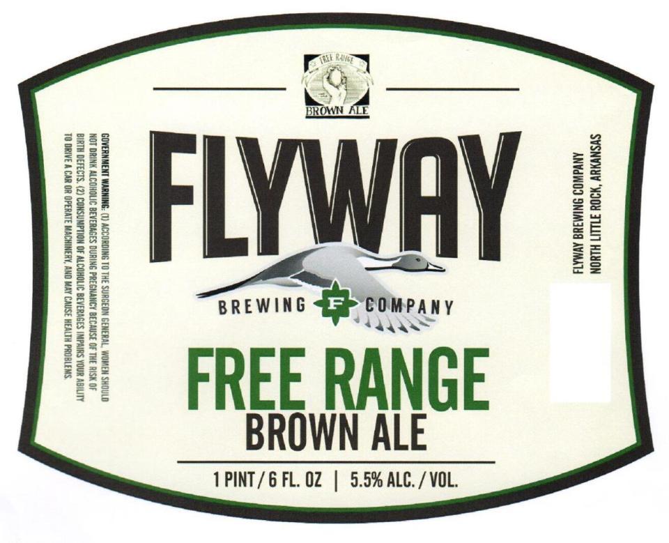 Flyway Brewing Free Range Brown Ale