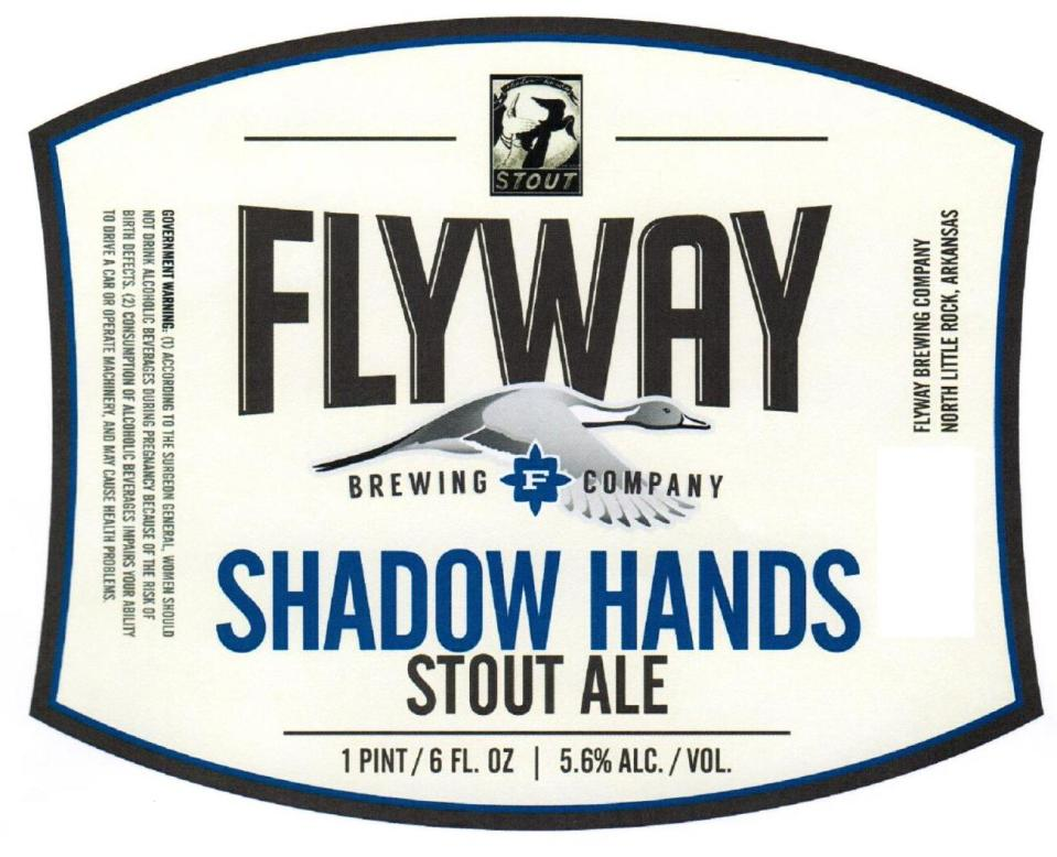 Flyway Brewing Shadow Hands Stout Ale