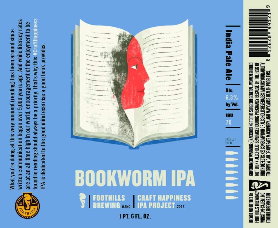 Foothills Bookworm IPA