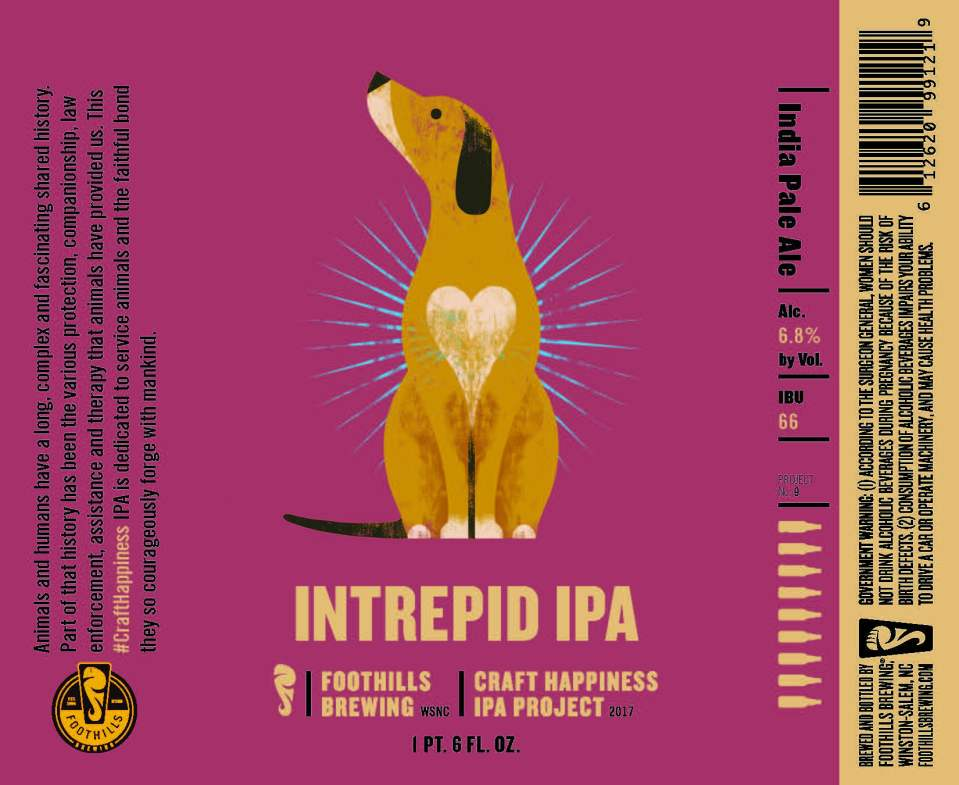 Foothills Intrepid IPA