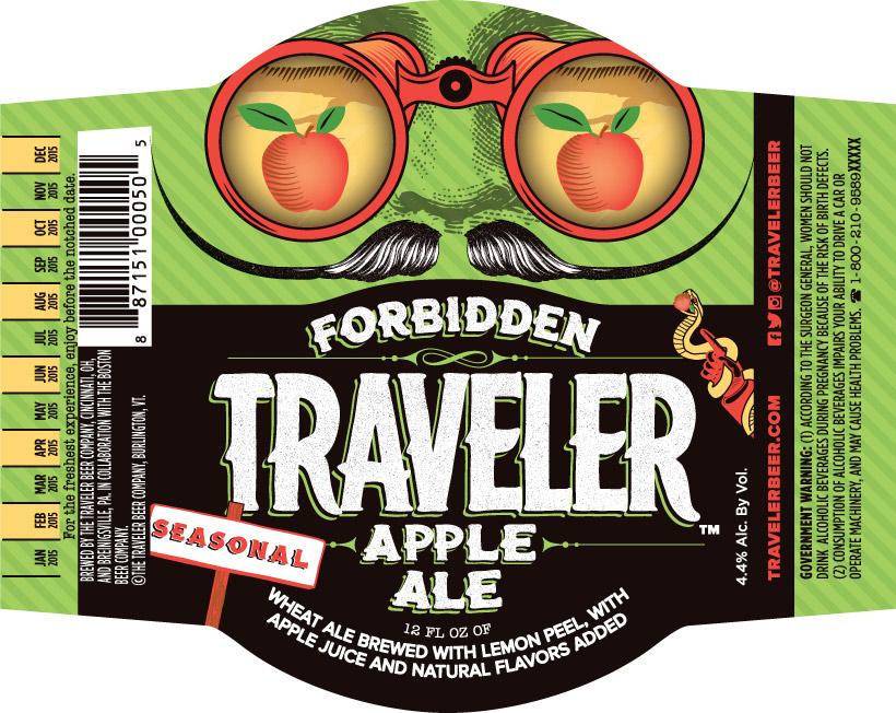 Forbidden Traveler Apple Ale