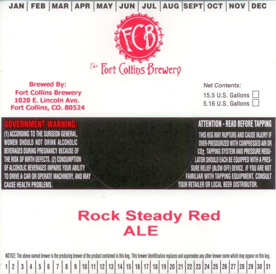 Fort Collins Rock Steady Red