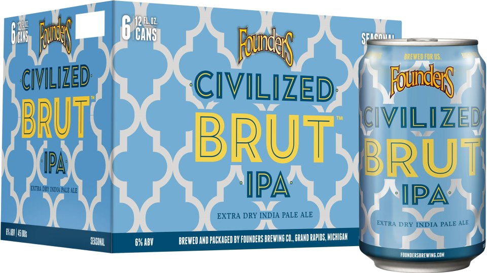 Founders Civilized Brut IPA