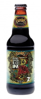 Founders Artist Inspired Black IPA , the first release in the series. (2013)