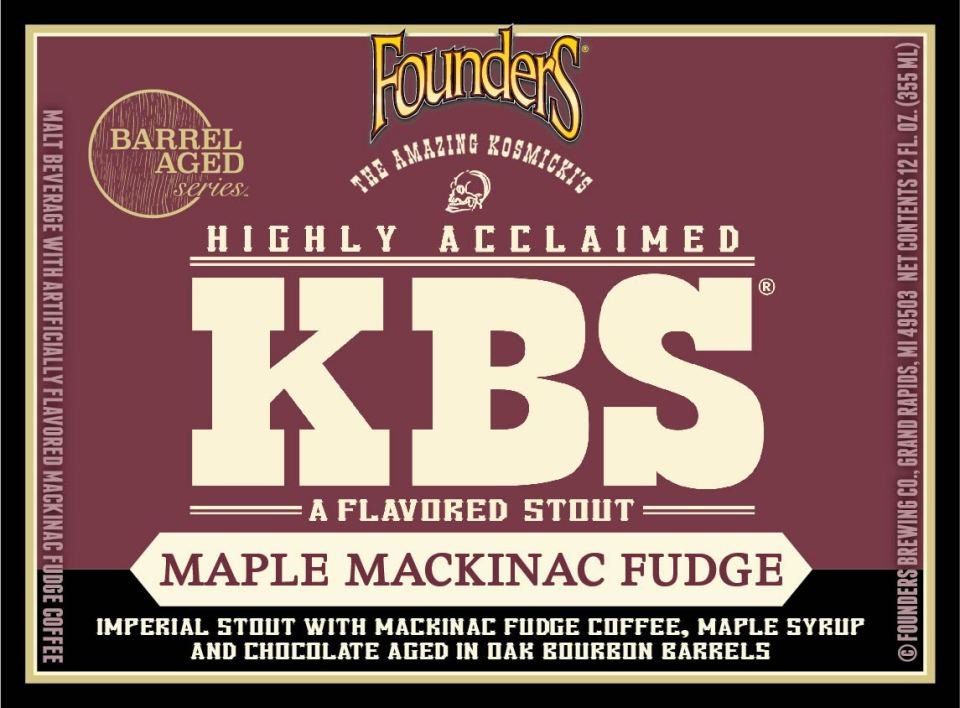 Founders KBS Mackinac Fudge