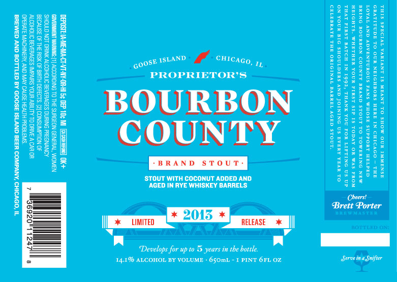 Bourbon County Backyard Rye goose island brewing archives - page 5 of 18 - beer street journal