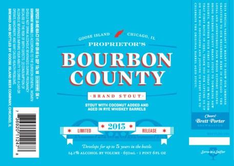 Goose Island Proprietor's Bourbon County. Brewed w/ Toasted coconut.