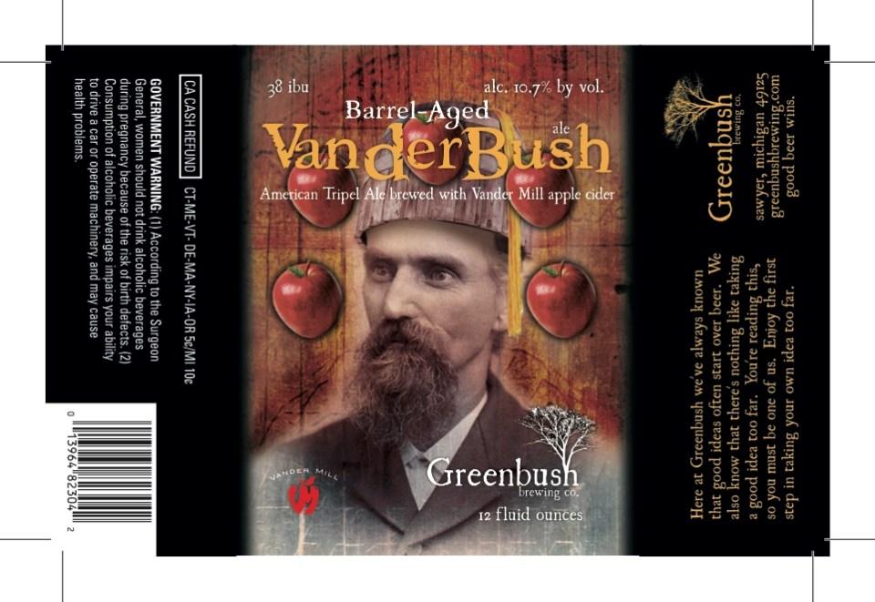 Greenbush Barrel Aged Vanderbush