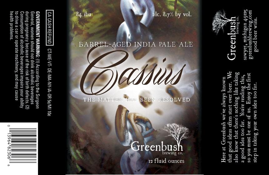 Greenbush Brewing Cassius