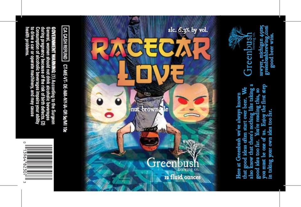 Greenbush Racecar Love