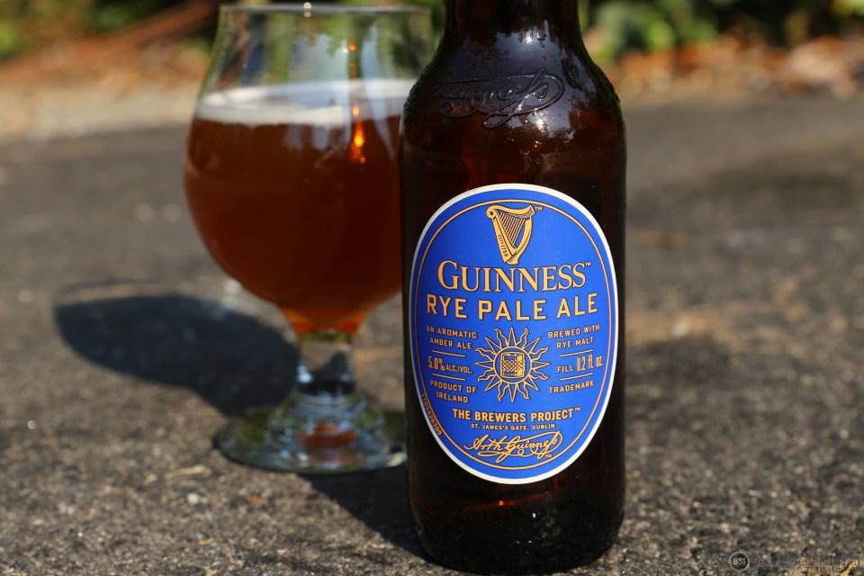 Guinness Rye Pale Ale bottle