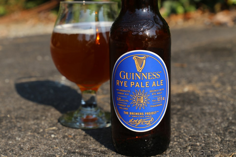 Guinness Rye Pale Ale bottle