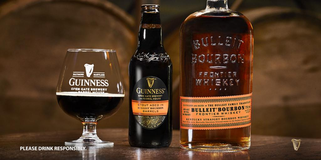 A bourbon barrel-aged Guinness will release in the U.S. soon