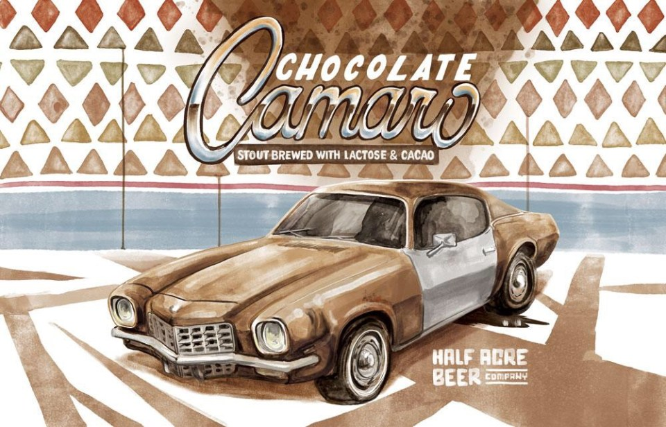 Half Acre Chocolate Camaro 2015