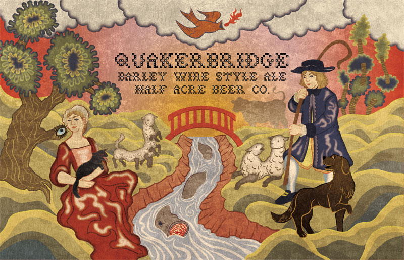 Half Acre Quakerbridge Barleywine