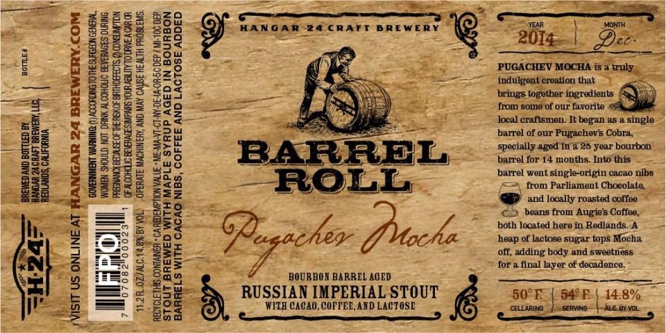 Hangar 24 Barrel Roll Pugachev Mocha