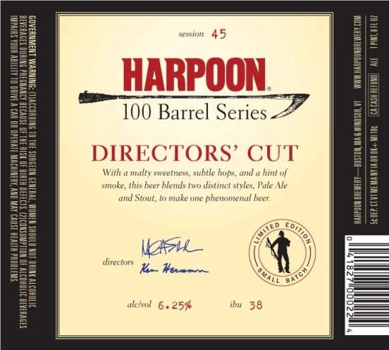Harpoon 100 Barrel Director's Cut