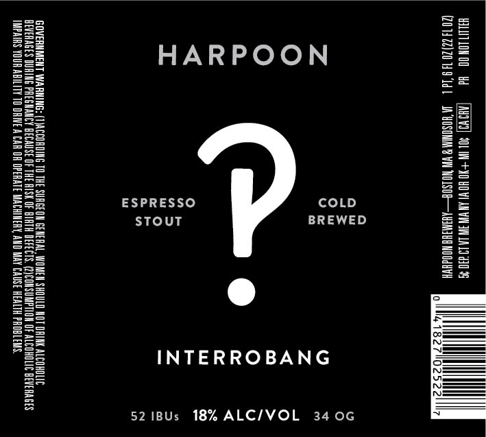 Harpoon Interrobang Espresso Stout