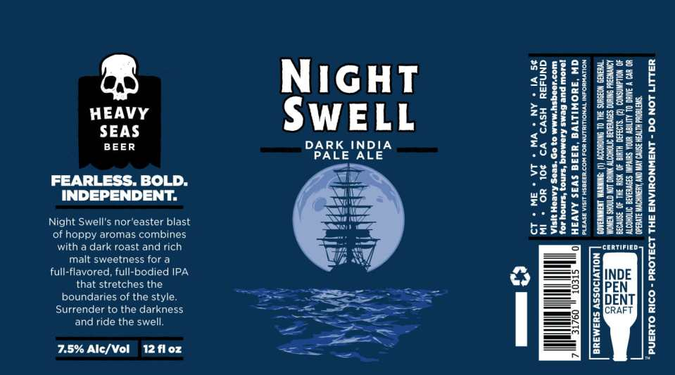 Heavy Seas Night Swell