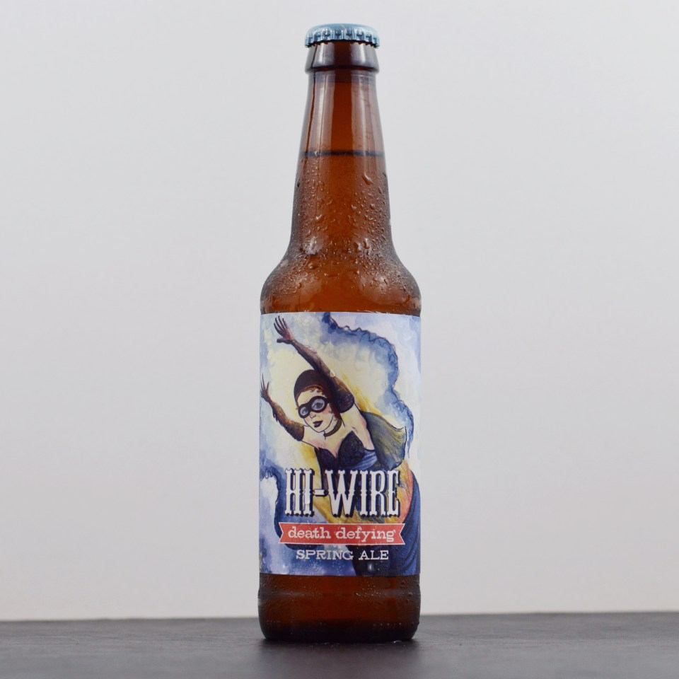 Hi-Wire Death Defying Spring Ale