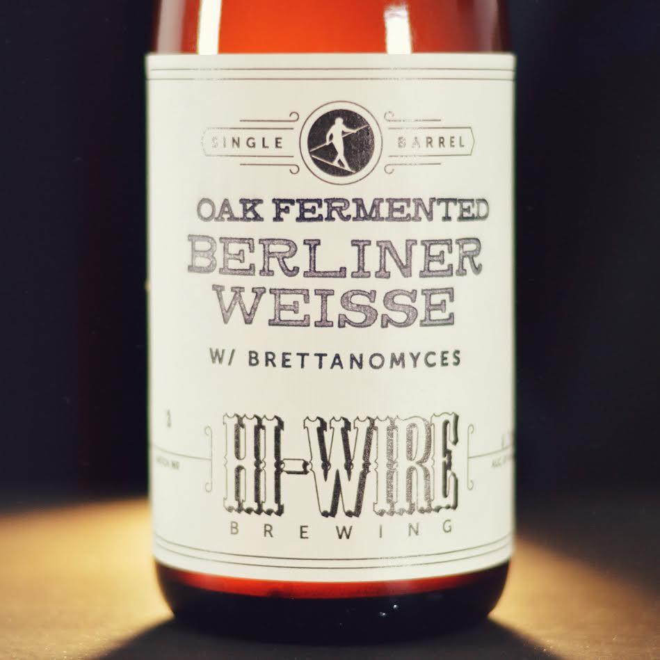 Hi-Wire Oak Fermented Berliner Weisse with Brett