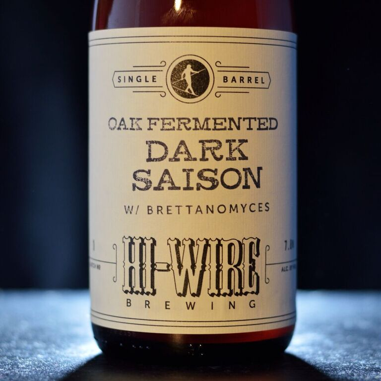 Hi Wire Single Barrel Dark Saison