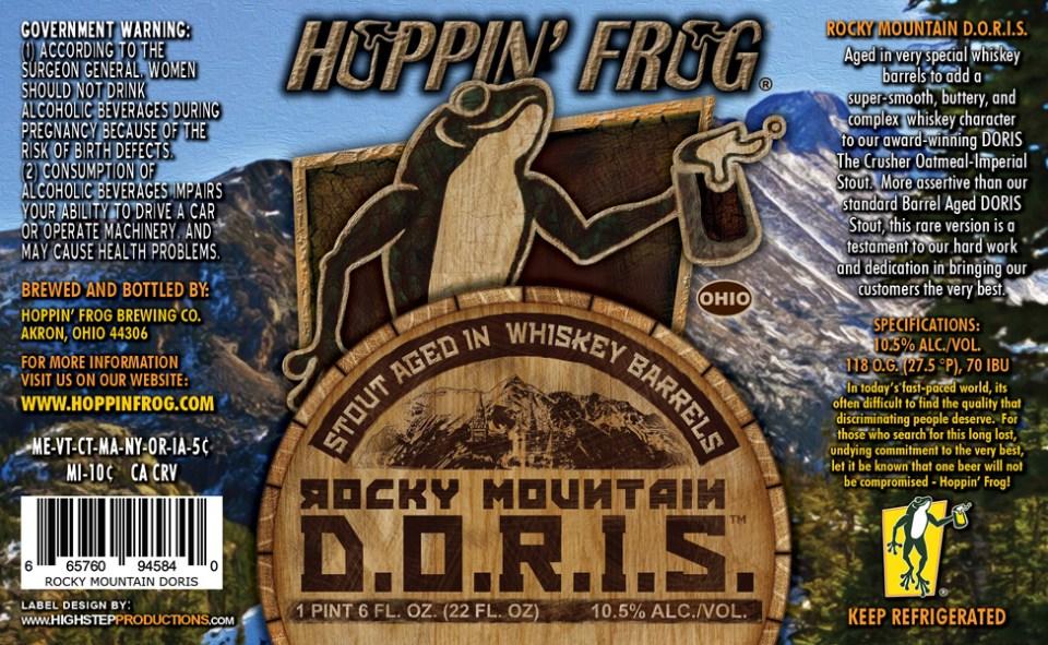 Hoppin' Frong Rocky Mountain D.O.R.I.S.