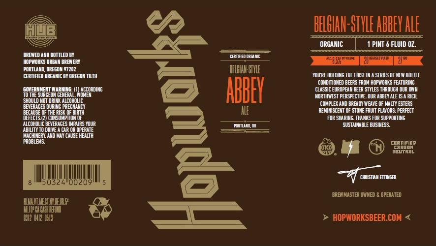 Hopworks Abbey Ale