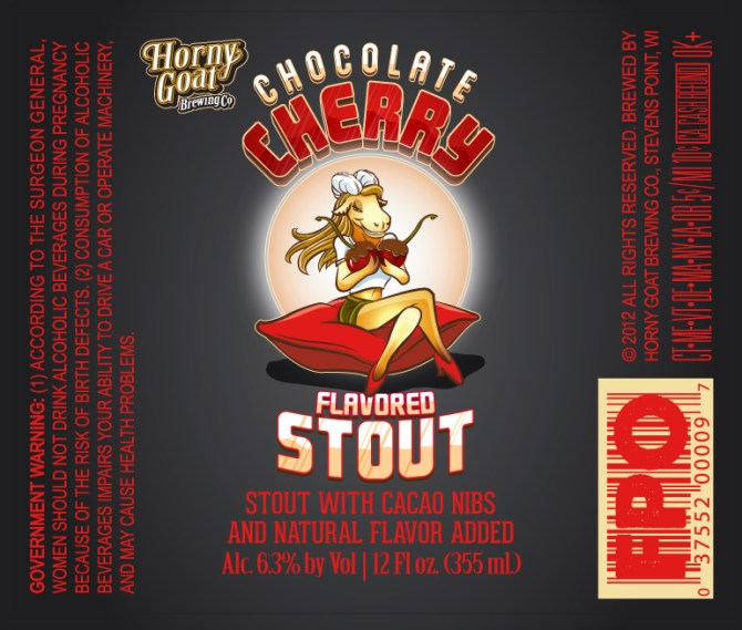 Horny Goat Chocolate Cherry Stout
