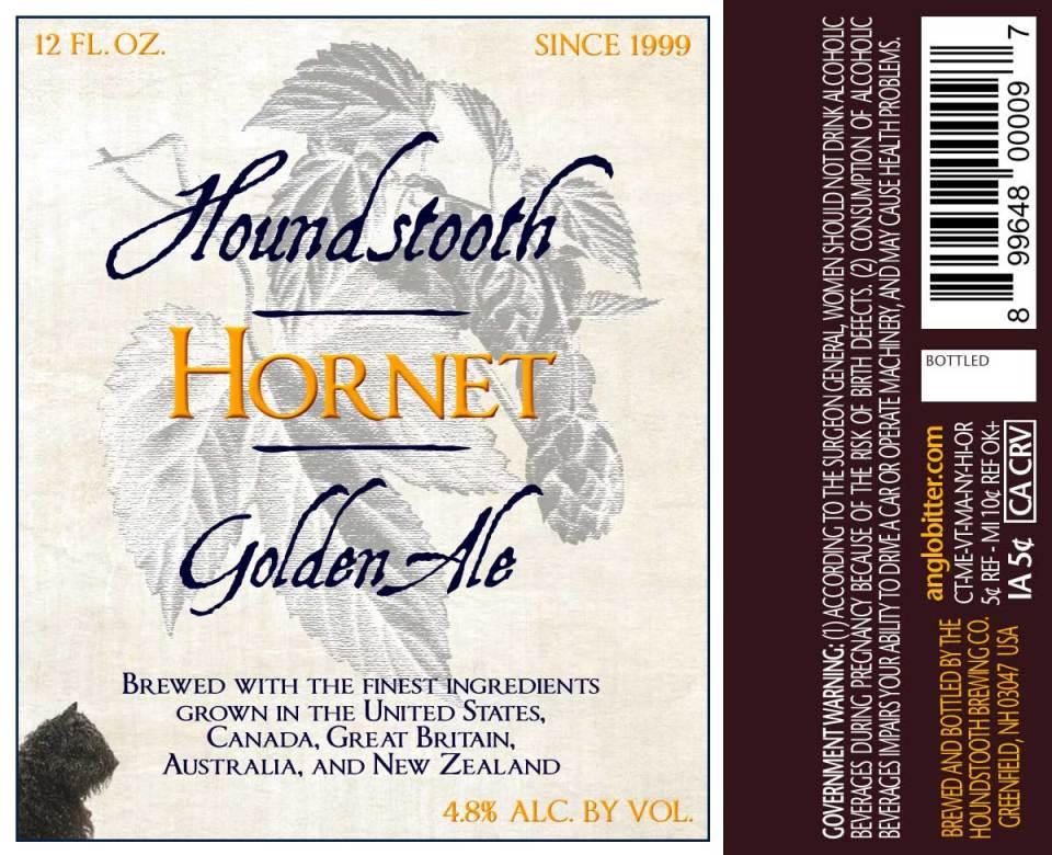 Houndstooth Hornet Golden Ale