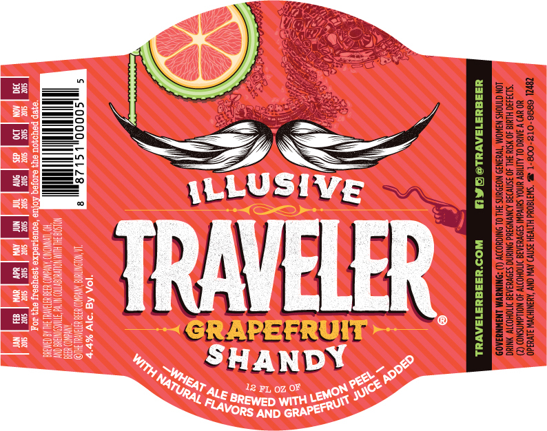 Illusive Traveler Grapefruit Shandy