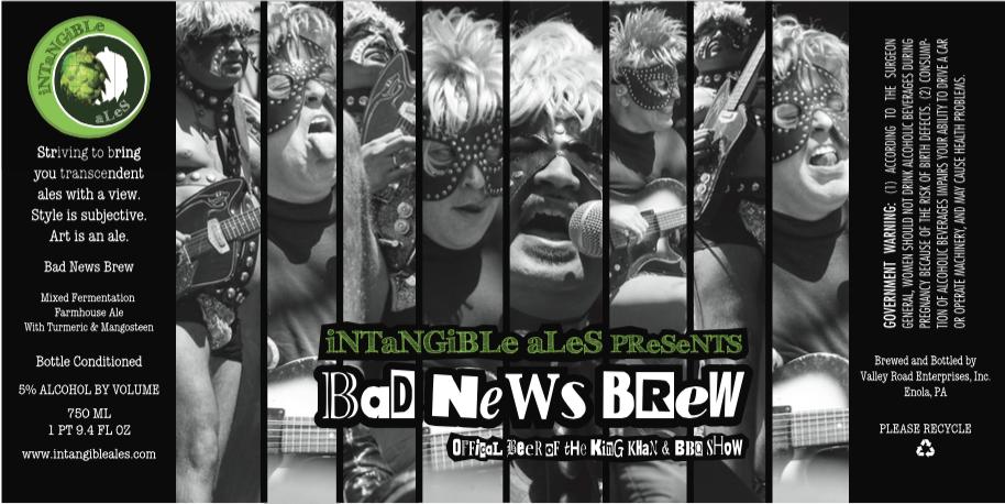 Intangible Ales Bad News Brews
