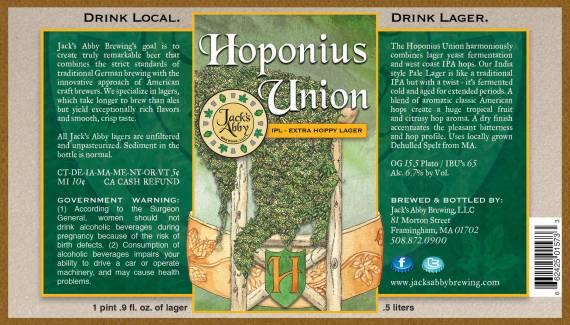 Jack's Abbey Hoponius Union