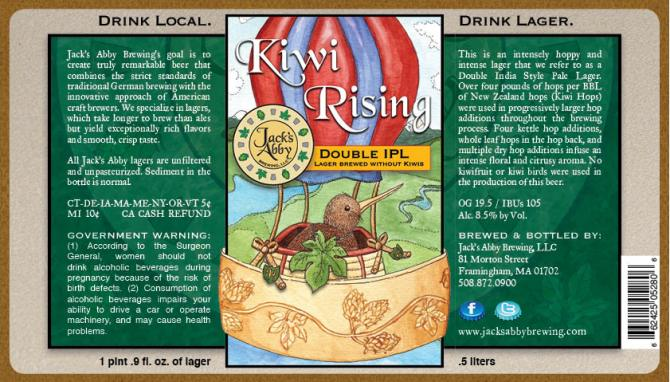 Jack's Abbey Kiwi Rising Double IPL