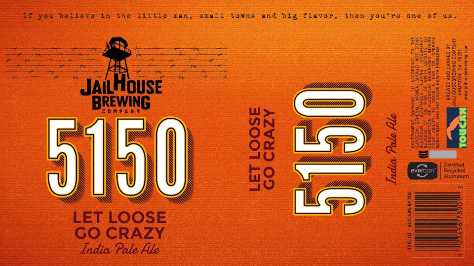 Jailhouse Brewing 5150