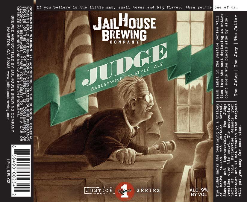 Jailhouse Judge Barleywine
