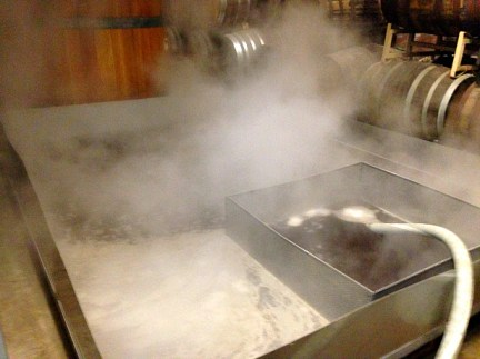 Coolship filling