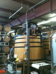 Brewing at Crooked Stave April 2014