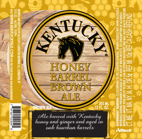 Kentucky Honey Barrel Brown Ale